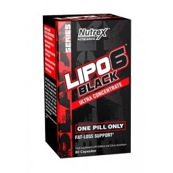 LIPO-6 Black Ultra Concentrate 60 caps (Internacional)