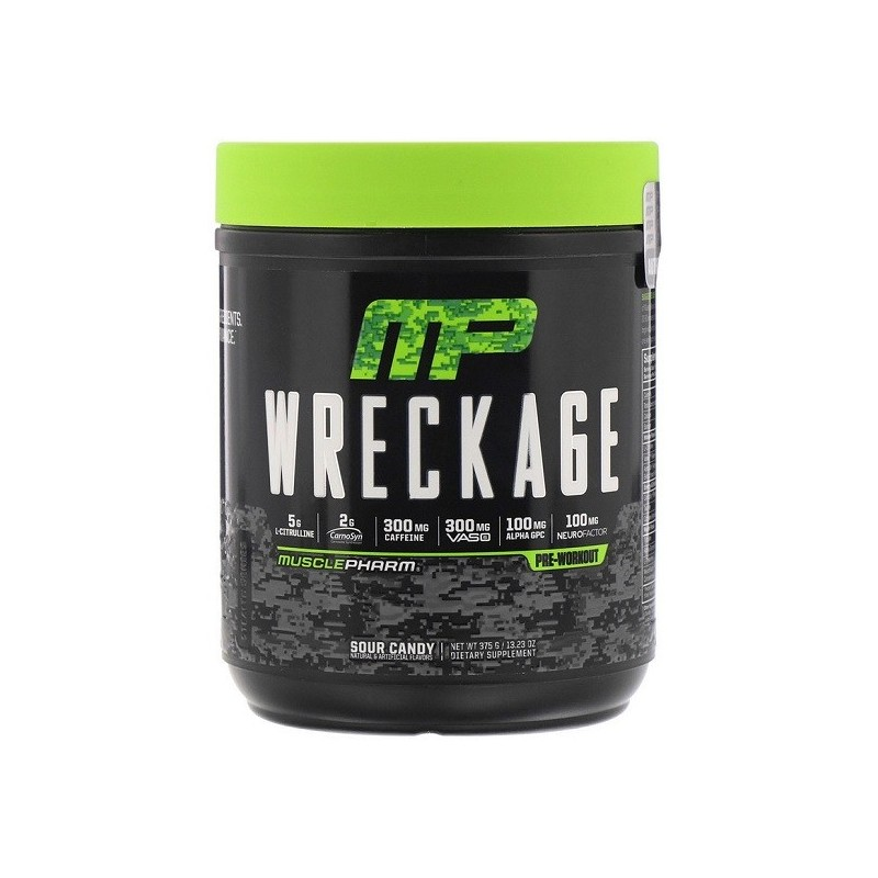 Wreckage Pre Workout 362g