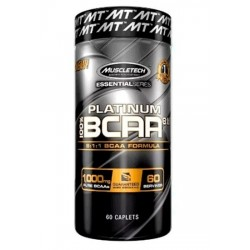 Muscletech Platinum BCAA 8.1.1 - 60 caps