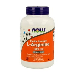 now foodsL-Arginine Double Strength 1000 mg 120 Comprimidos
