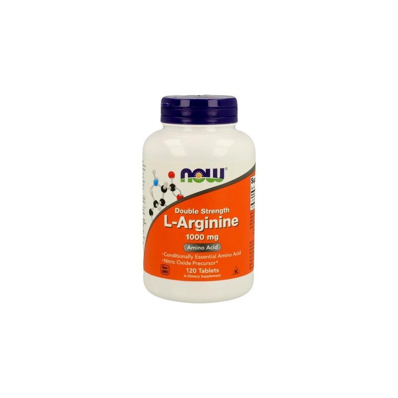 now foodsL-Arginine Double Strength 1000 mg 120 Comprimidos
