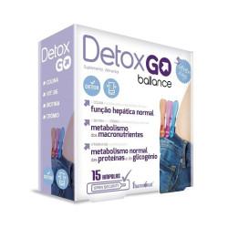Detox Go Balance 15 ampolas