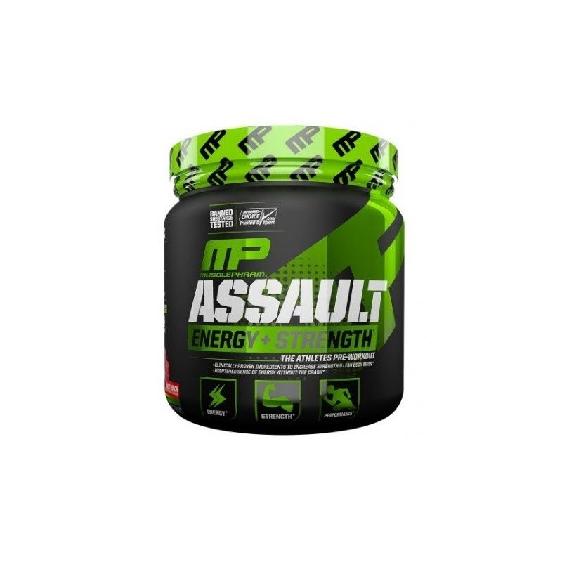 Assault® Energy + Strength 30 servings