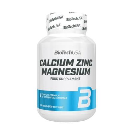BIOTECH Calcium-Zinc-Magnesium 100 tabs