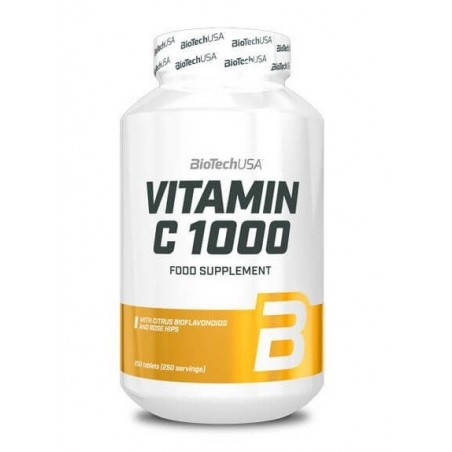 BIOTECH Vitamin C 1000 Rose Hips 250 tabs