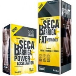 Fharmonat Pack Seca Barriga Fat Destroyer 500ml + Power Accelaration 60caps