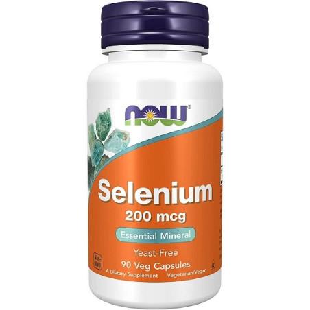 Now foods Selenium 200mcg 90 Vcaps