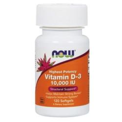 Now Vitamin D3 10000 - 120 caps