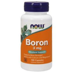 Now foods Boron 3mg 100 caps