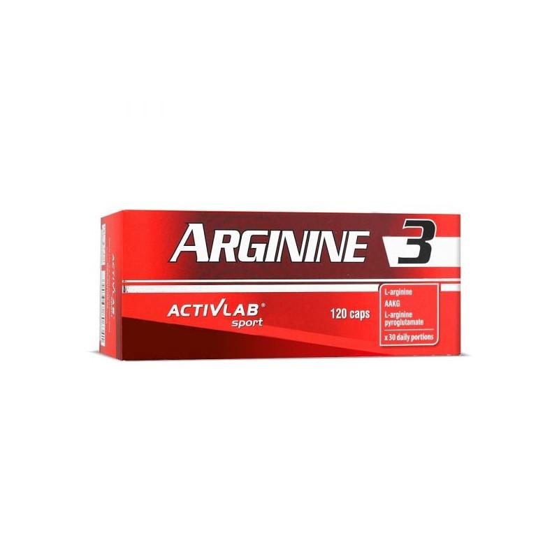 ACTIVLAB Arginine 3 - 120 caps