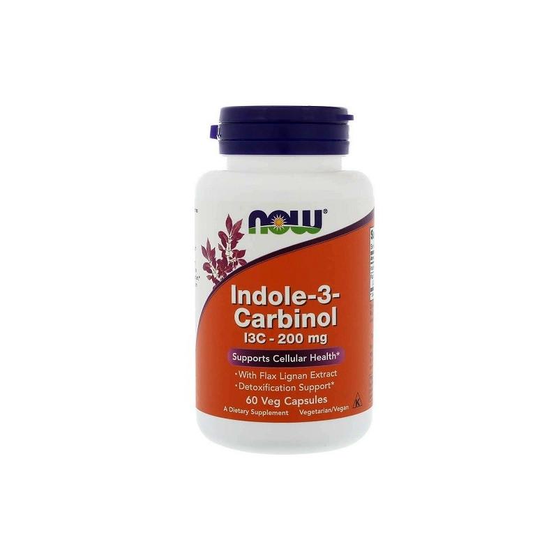 Now Indole-3-Carbinol I3C 200mg - 60 Vcaps