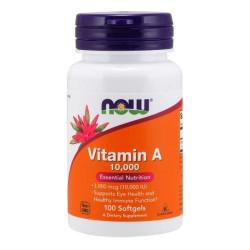 now Vitamin A 10000IU - 100 caps